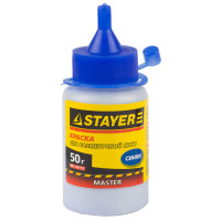 Краска STAYER для разметочных шнуров, синяя, 50г 0640-1_z01