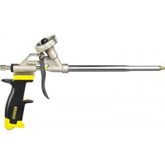 """Пистолет STAYER """"PROFESSIONAL"""" """"PROGun"""" для монтажной пены, металлический корпус 06861_z01"""