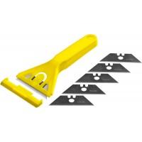"Набор STAYER ""STANDARD"": Скребок пластмассовый с 5 лезвиями, 50мм 0851-H6_z01"