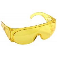 """Очки STAYER """"STANDARD"""" защитные, поликарбонатная монолинза с боковой вентиляцией, желтые 11042"""