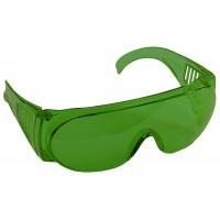 """Очки STAYER """"STANDARD"""" защитные, поликарбонатная монолинза с боковой вентиляцией, зеленые 11044"""