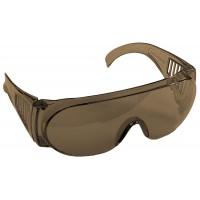 """Очки STAYER """"STANDARD"""" защитные, поликарбонатная монолинза с боковой вентиляцией, коричневые 11046"""