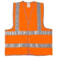 """Жилет сигнальный STAYER """"MASTER"""", оранжевый, размер XL (50-52) 11621-50"""