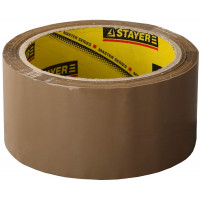 """Клейкая лента STAYER """"MASTER"""", коричневая, 48мм х 60м 1207-50"""