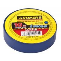 "Изолента STAYER ""MASTER"" синяя, ПВХ, 5000 В, 15мм х 10м 12291-B-15-10"