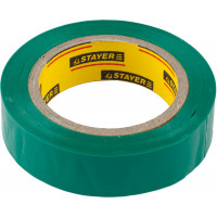 "Изолента STAYER ""MASTER"" зеленая, ПВХ, 5000 В, 15мм х 10м 12291-G-15-10"
