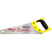 Ножовка многоцелевая (пила) STAYER TOOLBOX 350 мм, 11 TPI, мелкий прямой закаленный зуб, точный рез 2-15091-45