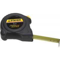 """Рулетка STAYER """"MASTER"""" """"AUTOLOCK"""", корпус с резиновым напылением, автостоп, 3мх16мм 2-34126-03-16_z01"""