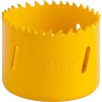 """Коронка STAYER """"PROFESSIONAL"""" Би-металлическая, универсальная, d=60мм 29547-060"""