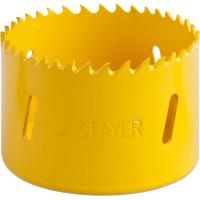 """Коронка STAYER """"PROFESSIONAL"""" Би-металлическая, универсальная, d=64мм 29547-064"""