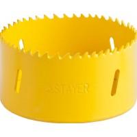 """Коронка STAYER """"PROFESSIONAL"""" Би-металлическая, универсальная, d=83мм 29547-083"""