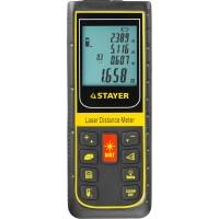 """Дальномер STAYER """"PROFESSIONAL"""" PRO-Control лазерный, дальность 100м, точность 2мм 34959"""