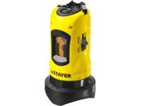 Нивелир лазерный линейный SLL-1, STAYER 34960, дальность 10м, точн. +/-0,5 мм/м 34960