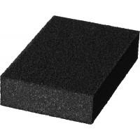 """Губка шлифовальная STAYER """"MASTER"""" четырехсторонняя, зерно - оксид алюминия,  Р180, 100 x 68 x 26 мм. 3560-3"""