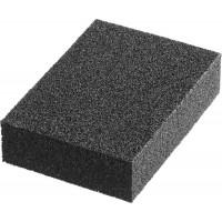 """Губка шлифовальная STAYER """"MASTER"""" четырехсторонняя, зерно - оксид алюминия,  Р320, 100 x 68 x 26 мм. 3560-4"""