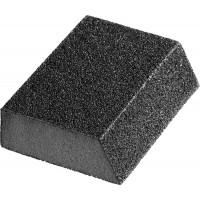 """Губка шлифовальная STAYER """"MASTER"""" угловая, зерно - оксид алюминия, Р180, 100 x 68 x 42 x 26 мм, средняя жесткость. 3561-180"""