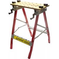 Верстак STAYER универсальный с регулировкой стола, 800х605х240 мм 38722