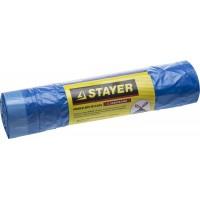 """Мешки для мусора STAYER """"Comfort"""" завязками, голубые, 30л, 20шт 39155-30"""