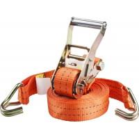 """Ремень STAYER """"PROFESSIONAL"""" для крепления груза, ширина ленты 35мм, нагрузка до 2000кг, длина 6м 40562-6"""