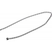 """Подводка гибкая STAYER для воды к смесителям, оплетка из нерж стали, укороченная, г/ш 1/2"""" - 1,2м 51016-120"""