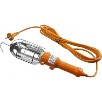 """Светильник STAYER """"MASTER"""" переносной, открытого типа с выключателем, 60Вт, 220В, 5м 56061"""