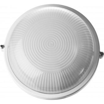 """Светильник STAYER """"MASTER"""" STARLight светодиодный, влагозащищенный IP54, алюм. корпус, стекло, круг, белый, 4000К, 6(50Вт) 57360-50-W"""