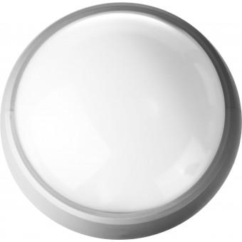 """Светильник STAYER """"PROFI"""" PROLight светодиодный, влагозащищенный IP65, пластиковый корпус, PC, влагозащищенный, круг, металлик, 4000К, 12(100Вт) 57362-100-S"""
