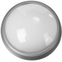 """Светильник STAYER """"PROFI"""" PROLight светодиодный, влагозащищенный IP65, пластиковый корпус, PC, влагозащищенный, круг, металлик, 4000К, 7(60Вт) 57362-60-S"""