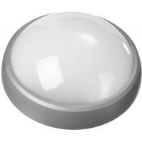 """Светильник STAYER """"PROFI"""" PROLight светодиодный, влагозащищенный IP65,  встроен сенсор, пластик корп, влагозащищ, круг, металлик, 4000К, 12(100Вт) 57364-100-S"""