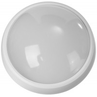 """Светильник STAYER """"PROFI"""" PROLight светодиодный, влагозащищенный IP65, встроен сенсор, пластик корпус, влагозащищен, круг, белый, 4000К, 12(100Вт) 57364-100-W"""