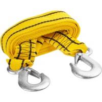 Трос буксировочный STAYER STANDARD, 2 крюка, сумка, 4м, 2,5т 61207-2.5